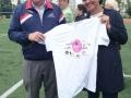 Un Tshirt souvenir pour Najat Vallaud Belkacem