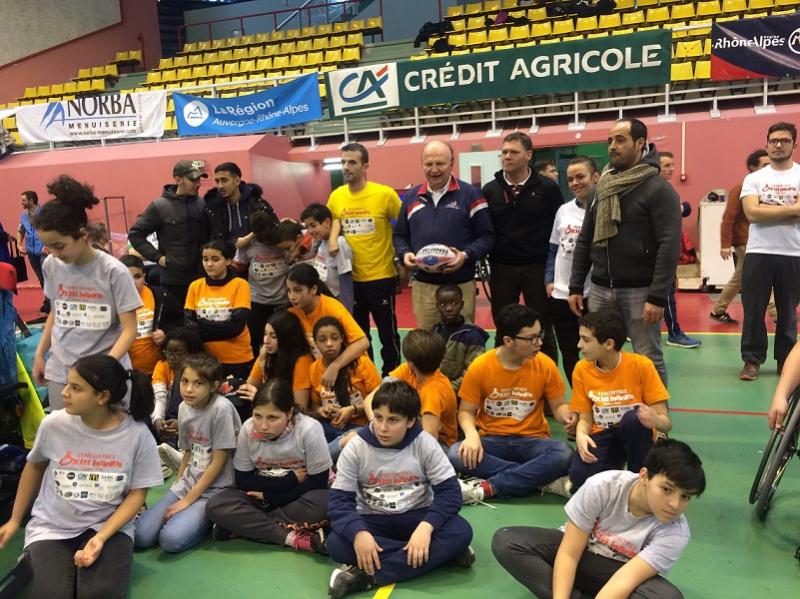 Les jeunes des centres sociaux de Tonkin et de Ferrandiere de Villeurbanne