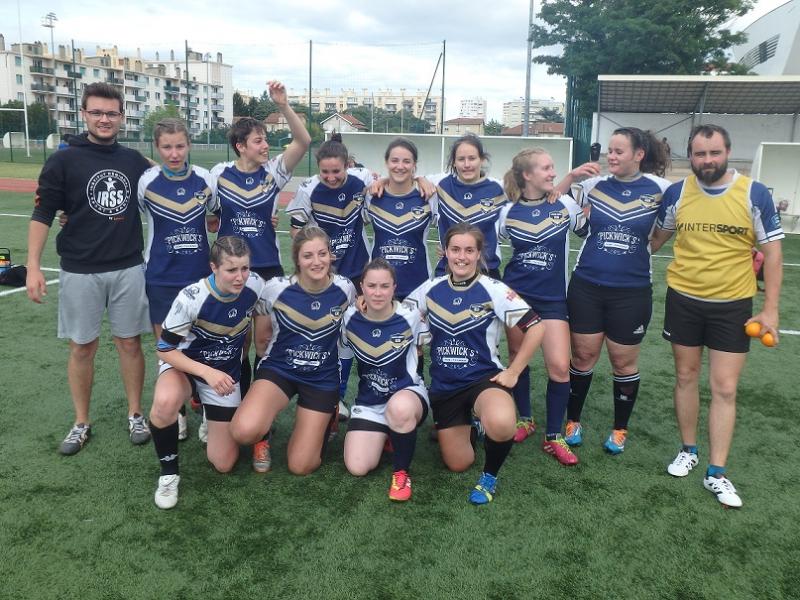 La formation de Nantes qui garde le sourire malgré la defaite