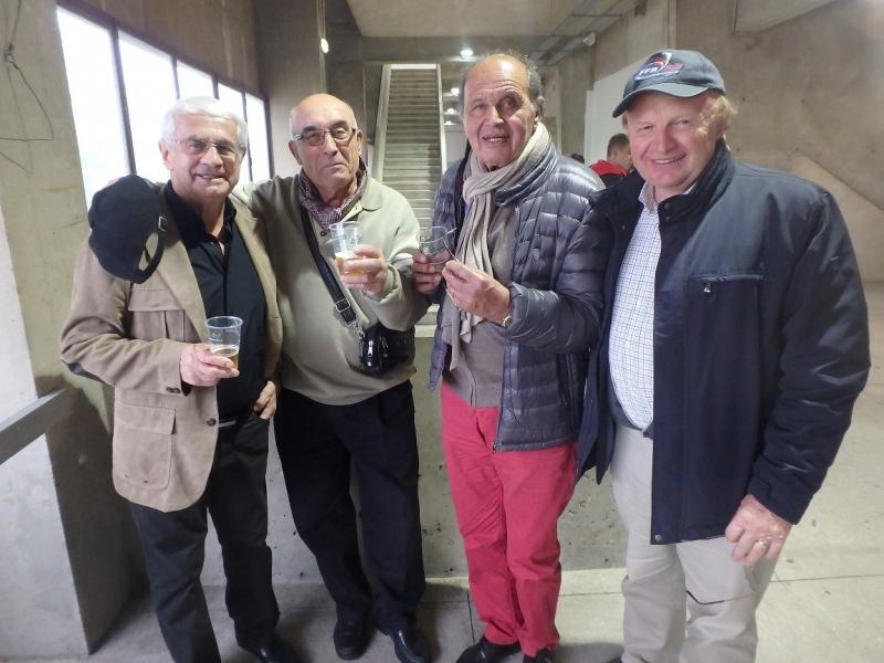 Jacques avec les anciens du Bataillon Savonne Duseigneur et Escourrou
