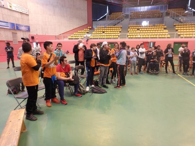 Hommage à la jeune Sephora du club de Handball Vailx décédée samedi