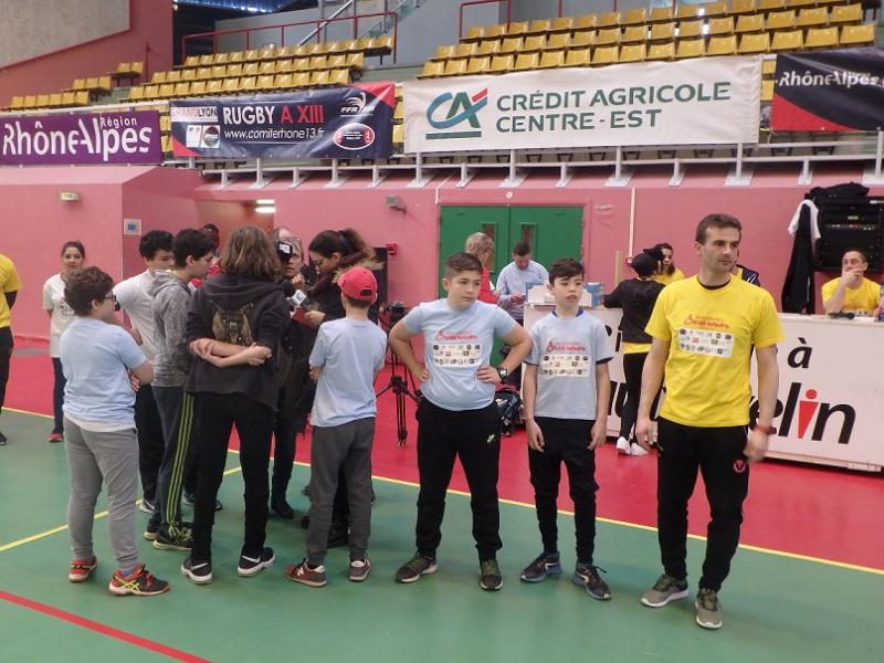 les jeunes du CS Berthaudiere